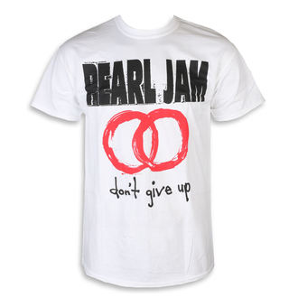 Мужская футболка металл Pearl Jam - Don't Give Up White - NNM, NNM, Pearl Jam