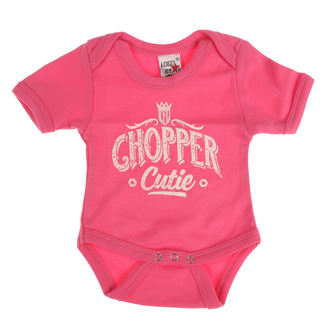 Детский куртка WEST COAST CHOPPERS - ONESIE CHOPPER CUTIE BABY CREEPER - роза, West Coast Choppers
