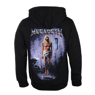 Мужская толстовка Megadeth - COUNTDOWN TO EXTINCTION - PLASTIC HEAD, PLASTIC HEAD, Megadeth