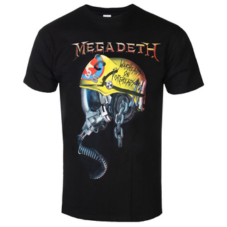 Мужская футболка метал Megadeth - FULL METAL VIC - PLASTIC HEAD, PLASTIC HEAD, Megadeth