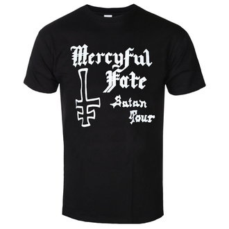Мужская футболка метал Mercyful Fate - SATAN TOUR 1982 - PLASTIC HEAD, PLASTIC HEAD, Mercyful Fate
