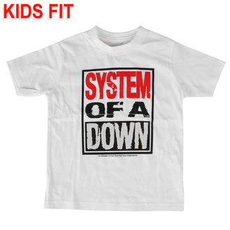 детская футболка System of a Down - Logo - Metal-Kids, Metal-Kids, System of a Down