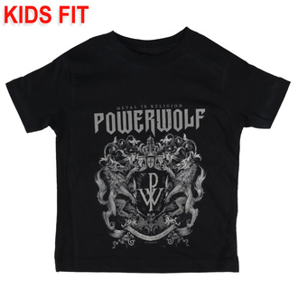 детская футболка Powerwolf - Crest - Metal-Kids, Metal-Kids, Powerwolf