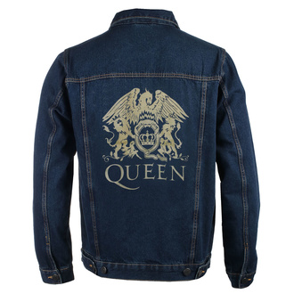 Мужская куртка Queen - Classic - DENIM - ROCK OFF, ROCK OFF, Queen