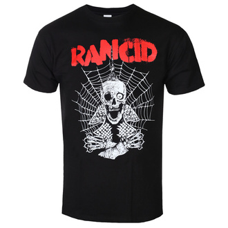 Мужская футболка Rancid - Spiderweb - Черный  - KINGS ROAD, KINGS ROAD, Rancid