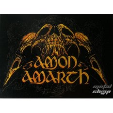 флаг Amon Amarth - Черепа, HEART ROCK, Amon Amarth