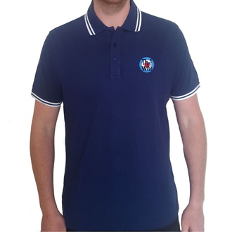 Мужская футболка The Who - Target Logo - NAVY Polo - ROCK OFF, ROCK OFF, Who
