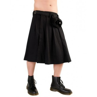 килт Black Pistol - Short Kilt Denim Black, BLACK PISTOL