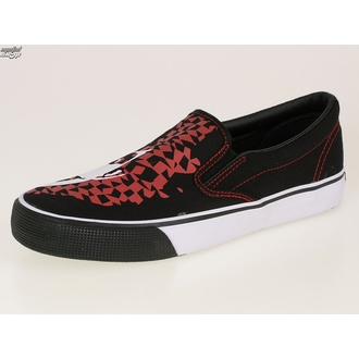 низкий кроссовки мужской Adicts - Adicts Jester Slip On - DRAVEN - MCAD 005 - BLK, DRAVEN, Adicts