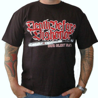 футболка металл мужской Death Before Dishonor - baseball bat - RAGEWEAR, RAGEWEAR, Death Before Dishonor