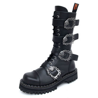 ботинки KMM 14Eyelet - Big Skulls Black Monster 4P, KMM