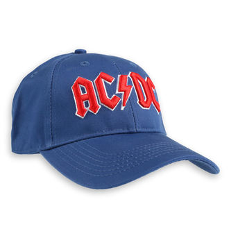 Кепка AC / DC - Red Logo Mid-Blue - ROCK OFF - ACDCCAP02MBL