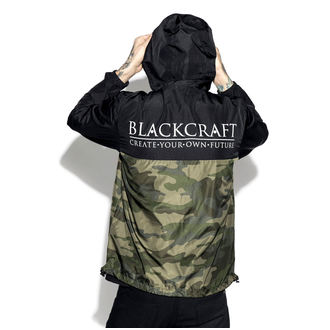 весна / осень куртка унисекс - Staple Black on Camo - BLACK CRAFT, BLACK CRAFT