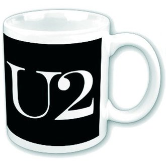 Чашка U2 - Logo - ROCK OFF, ROCK OFF, U2