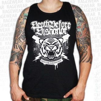 Мужская майка Death Before Dishonor - Tiger - черный - RAGEWEAR, RAGEWEAR, Death Before Dishonor