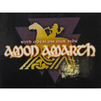 флаг Amon Amarth - With Oden Your Side, HEART ROCK, Amon Amarth