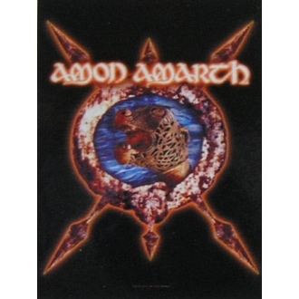 флаг Amon Amarth HFL 828, HEART ROCK, Amon Amarth