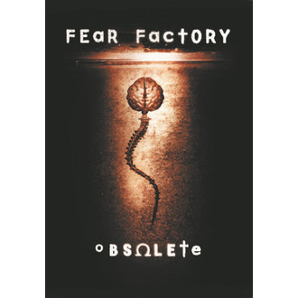 флаг Fear Factory - Obsolete, HEART ROCK, Fear Factory