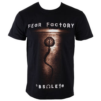 Мужская футболка металл Fear Factory - Obsolete - PLASTIC HEAD, PLASTIC HEAD, Fear Factory
