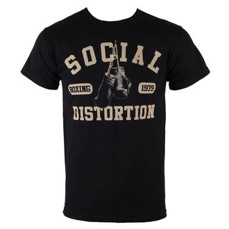 футболка металл мужской Social Distortion - Boxing Gloves - BRAVADO, BRAVADO, Social Distortion