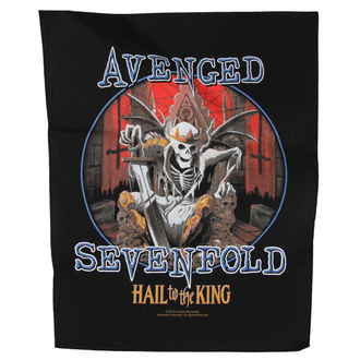патч Avenged Sevenfold - HAIL TO THE KING - RAZAMATAZ, RAZAMATAZ, Avenged Sevenfold