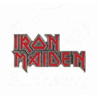 Скрывай Iron Maiden - ALCHEMY GOTHIC - Эмаль Логотип - PC505