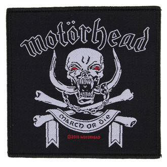 патч Motörhead - March ör Die - RAZAMATAZ - SP2448