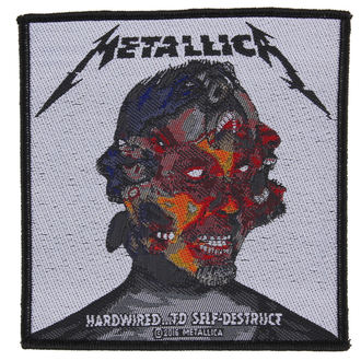 патч METALLICA - HARDWIRED TO SELF DESTRUCT - RAZAMATAZ - SP2874