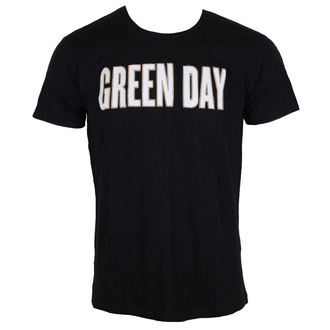 футболка металл мужская Green Day - Логтип Green Day - ROCK OFF, ROCK OFF, Green Day