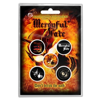 Значки Mercyful Fate - Don't Break The Oath - RAZAMATAZ, RAZAMATAZ, Mercyful Fate