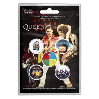 Значки Queen - Later Albums - RAZAMATAZ, RAZAMATAZ, Queen