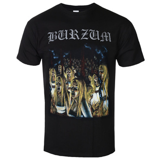 Мужская металл-футболка Burzum - BURNING WITCHES - PLASTIC HEAD, PLASTIC HEAD, Burzum