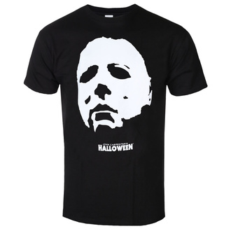 Мужская фильм футболка Halloween - MICHAEL FACE - PLASTIC HEAD, PLASTIC HEAD, Halloween