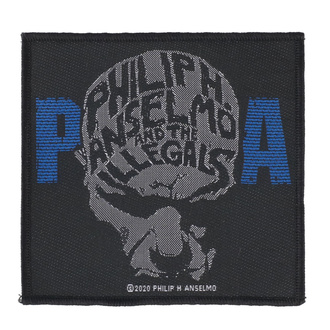 Нашивка  Philip H. Anselmo & The Illegals - Face - RAZAMATAZ, RAZAMATAZ, Philip H. Anselmo & The Illegals