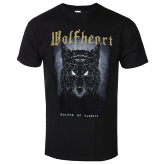 Мужская футболка WOLFHEART - Wolves of Karelia - NAPALM RECORDS, NAPALM RECORDS, Wolfheart