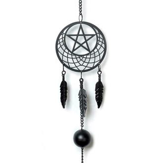 колокол (украшение) ALCHEMY GOTHIC - Pentagram Dream Catcher, ALCHEMY GOTHIC