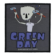 патч GREEN DAY - HAMMER FACE - RAZAMATAZ, RAZAMATAZ, Green Day