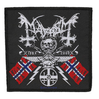 патч MAYHEM - COAT OF ARMS - RAZAMATAZ - SP2500