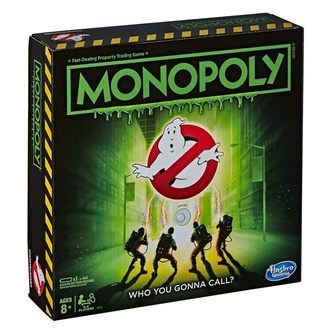 Игра Ghostbusters - Board Game Monopoly, NNM, Ghostbusters