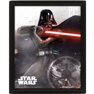 3D картина - STAR WARS - VADER VS SKYWALKER - PYRAMID POSTERS, PYRAMID POSTERS, Star Wars
