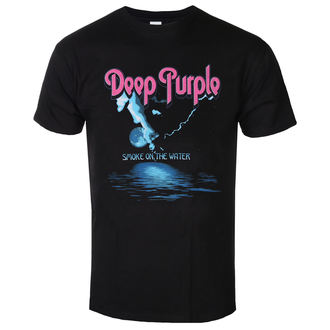 футболка металл мужской Deep Purple - Smoke On The Water - LOW FREQUENCY, LOW FREQUENCY, Deep Purple