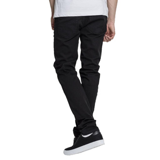 Мужские брюки URBAN CLASSICS - Basic Stretch Twill 5 Pocket - черный, URBAN CLASSICS