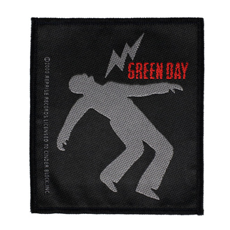 Нашивка Green Day - Lightning Bolt - RAZAMATAZ, RAZAMATAZ, Green Day