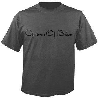 футболка металл мужской Children of Bodom - Logo GREY - NUCLEAR BLAST, NUCLEAR BLAST, Children of Bodom