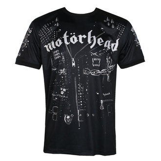 Мужская футболка Motörhead - LEATHER VEST - BLACK - AMPLIFIED, AMPLIFIED, Motörhead