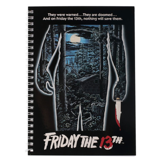 Блокнот Friday the 13th - Movie Poster, NNM, Friday the 13th