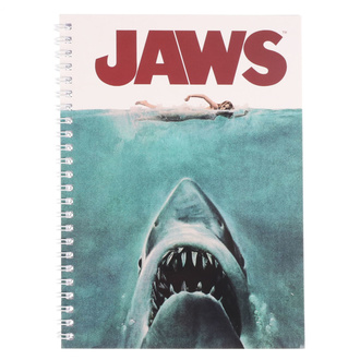 Блокнот Jaws - Movie Poster, NNM, JAWS