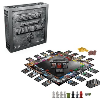 Настольная игра STAR WARS - Monopoly The Mandalorian *English Version*, NNM, Star Wars