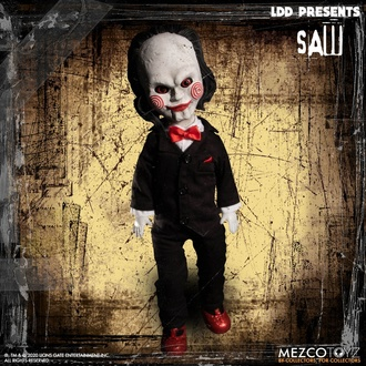 Кукла Saw - Living Dead Dolls - Кукла Билли, LIVING DEAD DOLLS, Saw